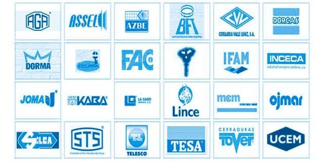 Trabajamos con las mejores marcas en Cádiz